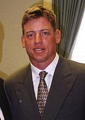 Troy Aikman - Image: Aikman visits Hall, cropped