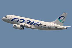 Airbus A319-132 Adria Airways S5-AAP.jpg