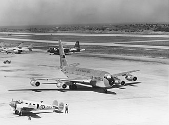 Naval Station Rota - U.S. Air Force Boeing C-135B-BN Stratolifter circa mid-1960's