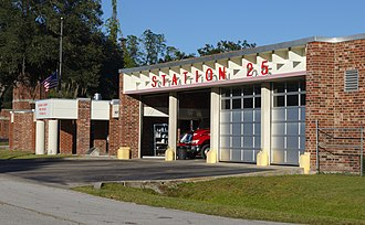 Hawthorne, Florida - Alachua County Fire Rescue Station 25