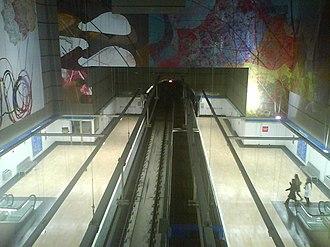 Alameda de Osuna (Madrid Metro) - Image: Alamedaosuna