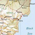 Albena Bulgaria 1994 CIA map.jpg