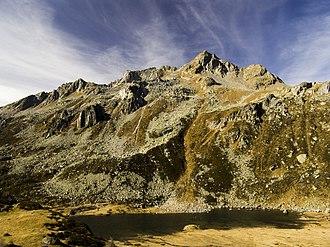 Albrunhorn - Image: Albrunhorn