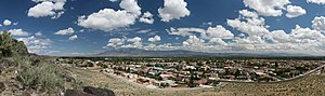 Panoramic of Albuquerque, NM. Taken from Petro...