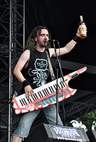 Alestorm, Christopher Bowes at Wacken Open Air 2013 04.jpg