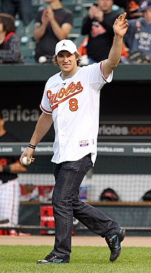 On  Ovechkin Threw Out The Ceremonial First Pitch For A Baltimore Orioles Game At Camden Yards