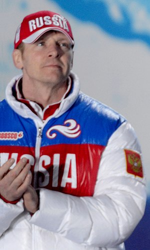Alexandr Zubkov - Alexandr Zubkov at the 2014 Olympics