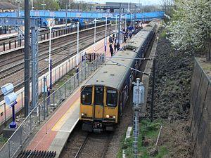Alexandra Palace railway station - Image: Alexandra Palace FCC 313031