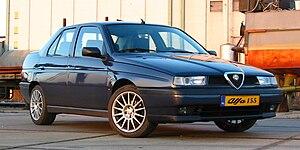 Alfa Romeo 155 - Alfa Romeo 155 facelift