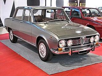 Alfa Romeo 1750 Berlina - Alfa Romeo 1750 Berlina