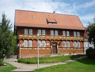 Alfeld - Old Latin school, today museum