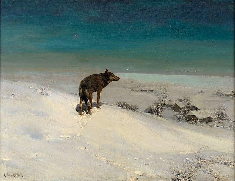 File:Alfred von Wierusz-Kowalski Der Wolf.jpg