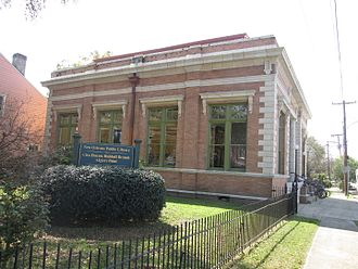 Algiers, New Orleans - Cita Dennis Hubbell Library