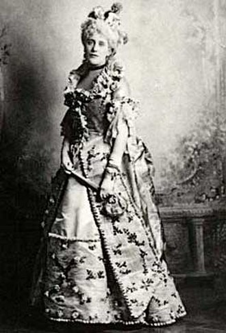 Alice Keppel - Costume Ball, Bal Poudré at Warwick Castle in 1895