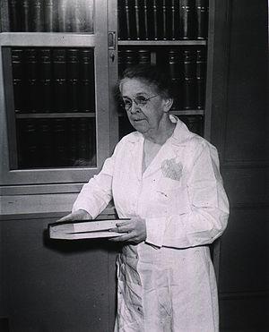 Alice Catherine Evans - Alice C. Evans, 1945