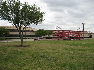 Howellville, Texas - Image: Alief TX O Donnell Middle School