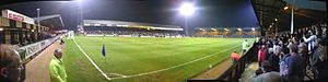 Abbey Stadium - Image: Alix Dorrington The Abbey Panorama