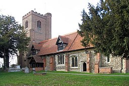 All Saints, Theydon Garnon Church, Essex - geograph.org.uk - 374409.jpg