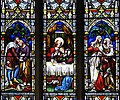 All Saints Church - stained glass detail - geograph.org.uk - 1070181.jpg