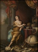 Allegory on the Vanity of Life (Andreas von Behn) - Nationalmuseum - 17934.tif