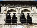 Allonne (60), église Notre-Dame de l'Annonciation, clocher, étage de beffroi côté sud.JPG