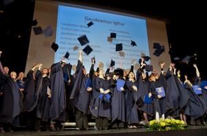 European Academy of Sciences and Arts - Alma Mater Europaea graduation ceremony. Maribor, Slovenia, 12 March 2013