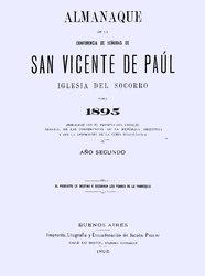anónimo: Almanaque de la Conferencia de Señoras de San Vicente de Paúl