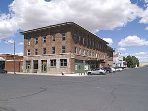 National Register of Historic Places listings in Lincoln County, Washington - Image: Almira Hotel 3