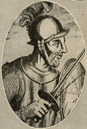 Alonso de Ojeda - Alonso de Ojeda. This image may not be of Alonso de Ojeda as some authors claim it is of Diego de Almagro