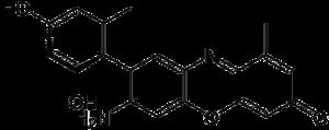 Orcein - Image: Alpha aminoorcein