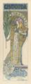 Alphonse Mucha - Poster for Victorien Sardou's Gismonda starring Sarah Bernhardt.png
