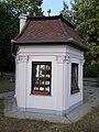 Alsópark's pavilion. Listed ID -12260. W. - Ady Promenade, Gödöllő.JPG