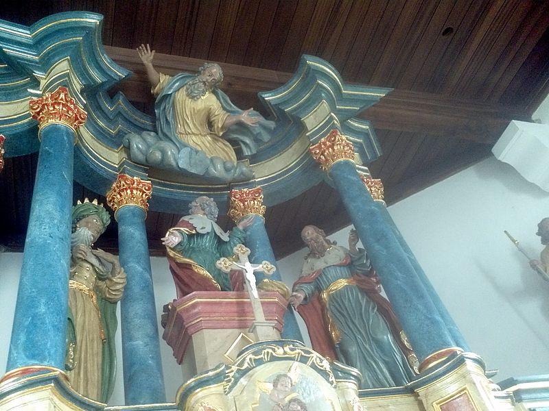 Altar der Kapelle St. Remi, Dahlem
