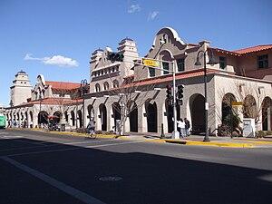 Alvarado Transportation Center - Image: Alvarado transportation frontage