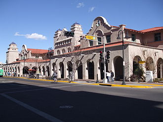 Alvarado Transportation Center - Image: Alvarado transportation frontage