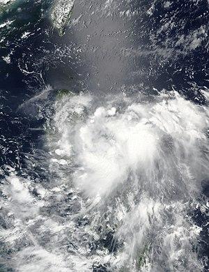 2016 Pacific typhoon season - Image: Ambo 2016 06 26 0550Z