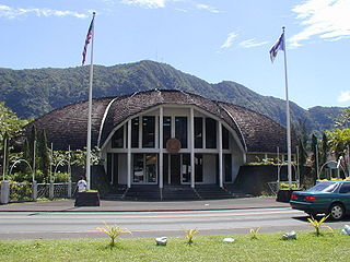 American Samoa Fono Territorial legislature of American Samoa