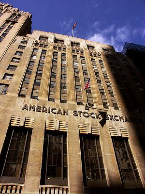 NYSE American - American Stock Exchange building, constructed in 1921.