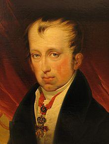 Friedrich von Amerling: Porträt Kaiser Ferdinand I. (Heeresgeschichtliches Museum Wien) (Quelle: Wikimedia)