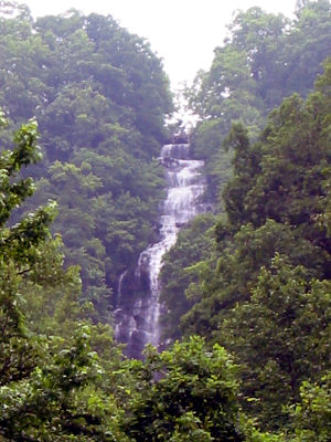 Amicalola Falls - Image: Amicalola Falls