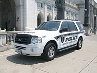 Rd Generation Ford Expedition Special Service Vehicle Used By The Amtrak Police