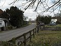 An equine observer just north of St James, Heyshott - geograph.org.uk - 1739807.jpg