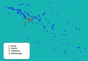 Anaa - Image: Anaa en Tuamotu