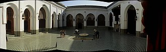 Andalusian Mosque - Image: Andalusian Mosque, Fes, Morocco panoramio