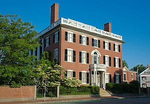 Salem Common Historic District (Salem, Massachusetts) - The Andrew-Safford House