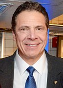 A portrait of Andrew Cuomo