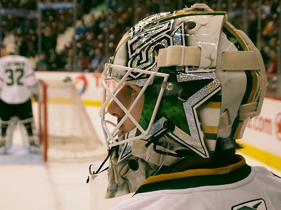 Andrew Raycroft's New Sparkle Mask