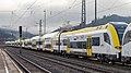Aneinandergereihte Siemens Desiro HC in Hausach.jpg