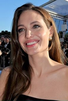 Angelia Jolie vid premiären av The Tree of Life i Cannes, 2011.