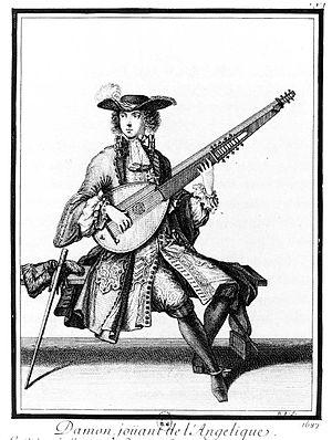 Angélique (instrument) - Image: Angelique damon